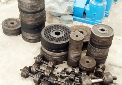 Small Pellet Mill Spare Parts Exported to Canada