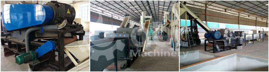 wood chipping equipment for big scale biomass pellets making factory