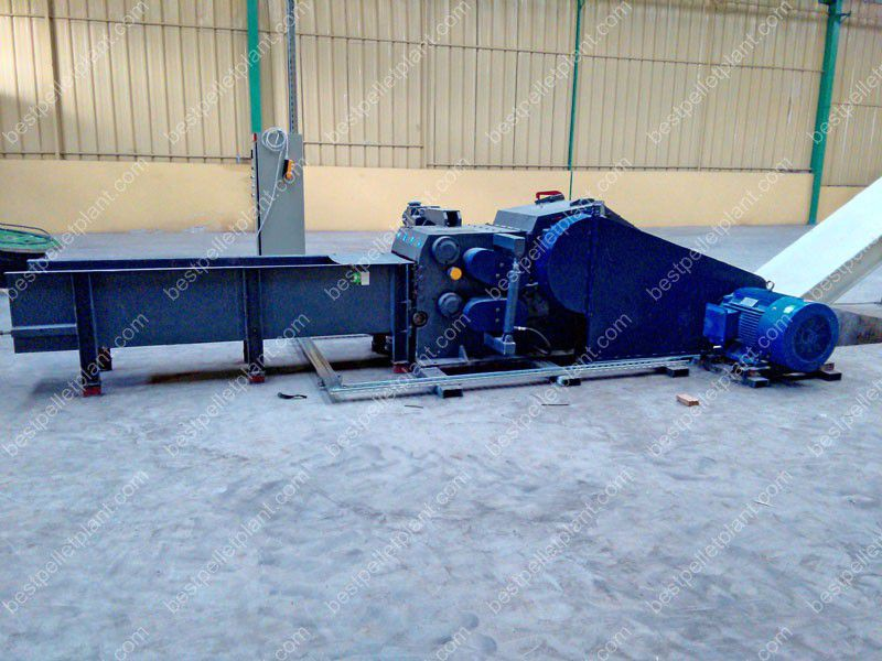 wood chipping equipment