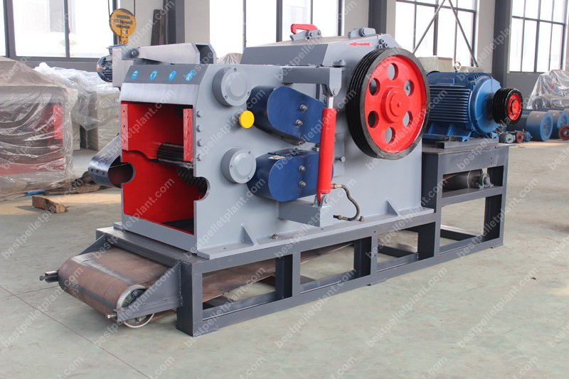 wood chipping machinery