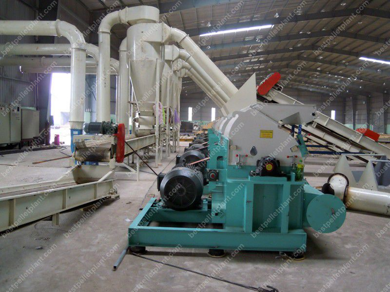 wood crusher machine