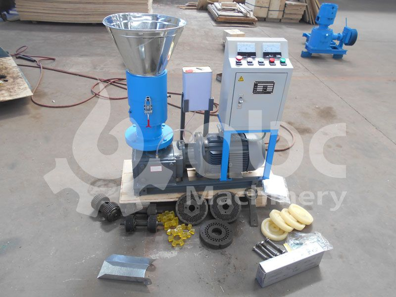 wood pellet manufacturing equipment for pine sawdust