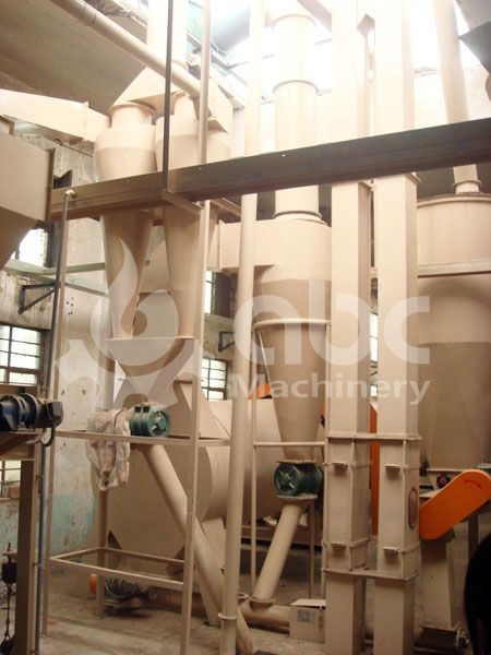 wood pellet manufacturing facility