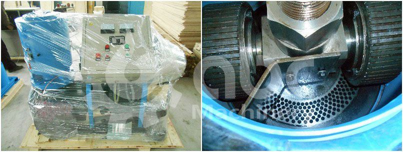 wood pellet mill machine exported to Nepal