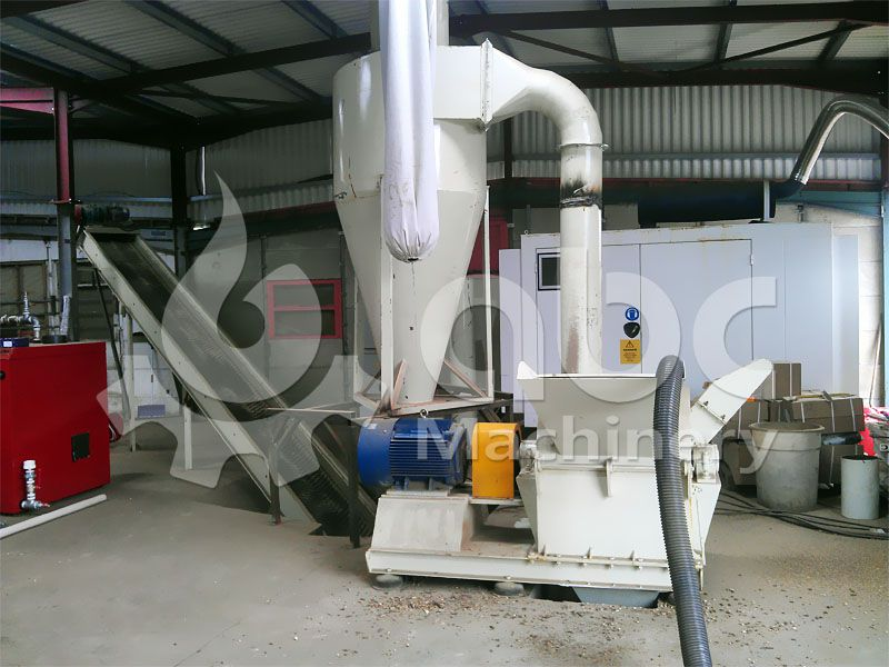 wood pellet production crushing equipment