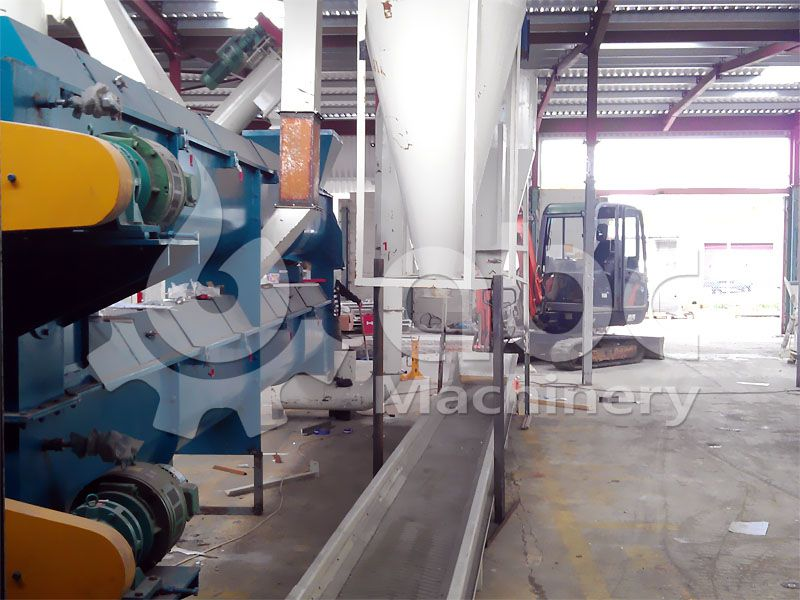 wood pellet production drying machine