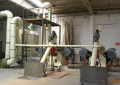 1Ton Per Hour Wood Pellet Production Line