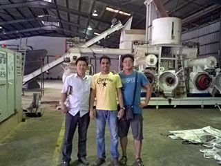 3 TPH Wood Pellet Production Machine Line in Malaysia