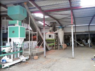 1TPH Wood Pellet Production System Established in UK