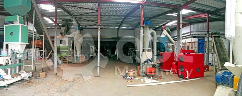 wood pellet production system for medium and large business plan