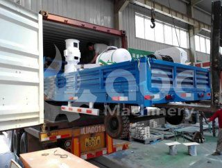 MPL400 Wood Pelletizing Machine Exported to South Africa
