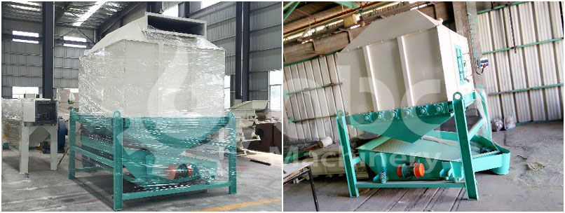 wood pellets cooling machine for large pellet making projects
