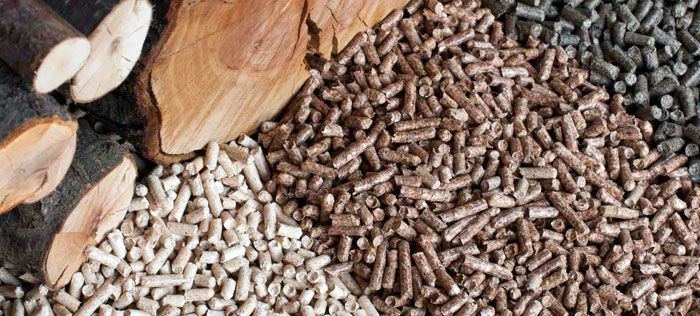 wood pellets making processing
