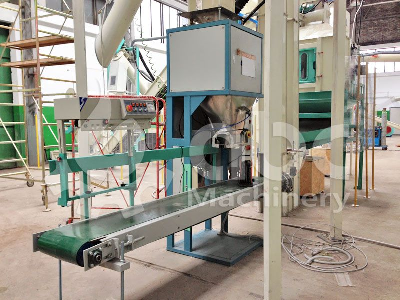 wood pellets packing machine details