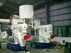 3 Ton Per Hour Wood Chip Pellet Line in Malaysia